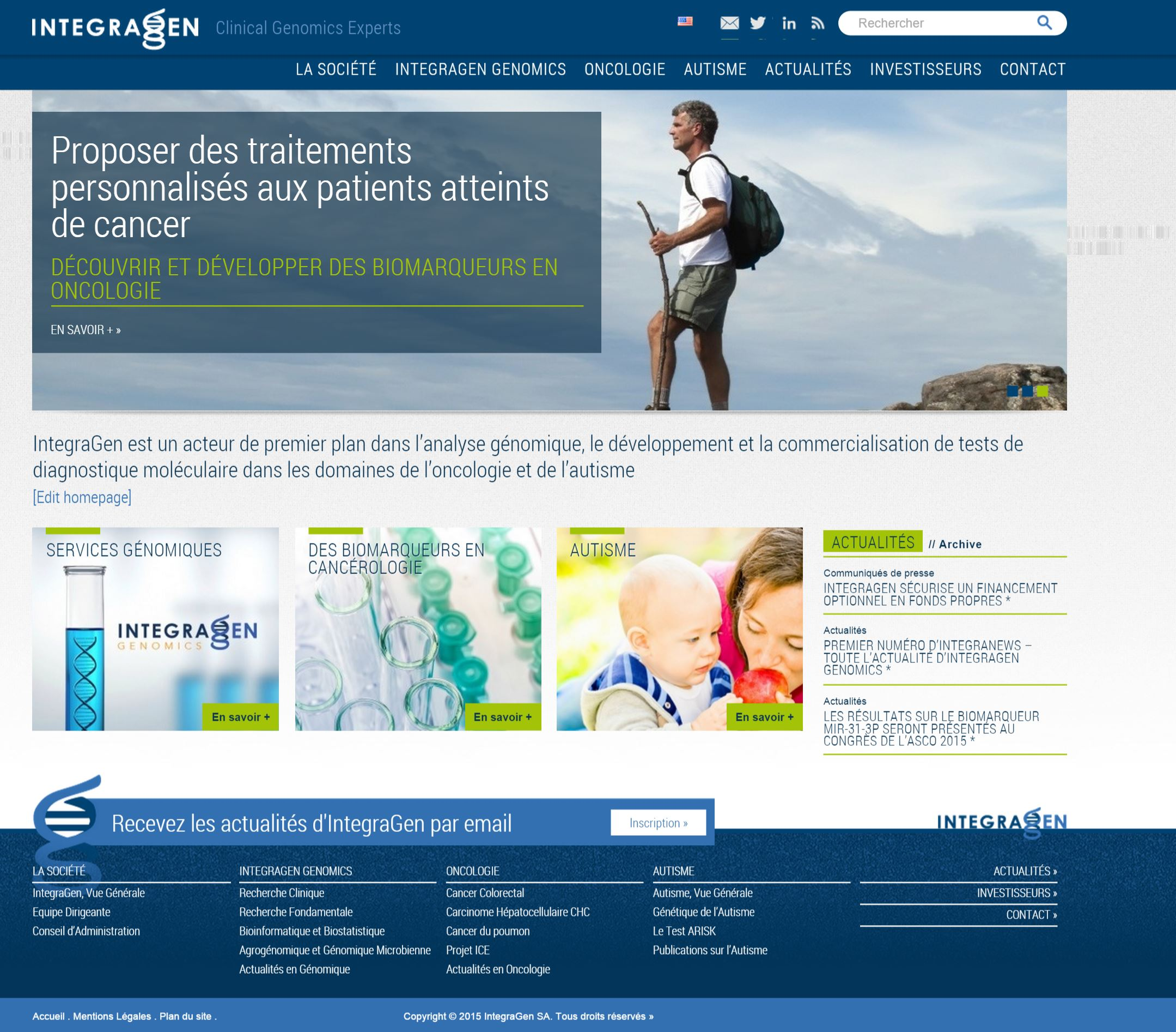 Integragen corporate french